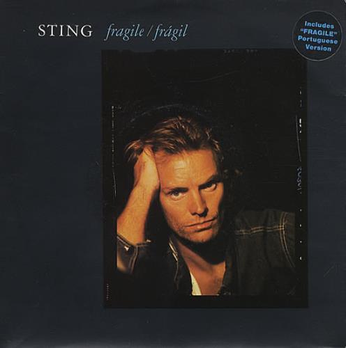 "Sting Fragile 7"" vinyl single (7 inch record) UK STI07FR195606"