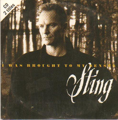 """Sting I Was Brought To My Senses CD single (CD5 / 5"""") German STIC5IW673624"""