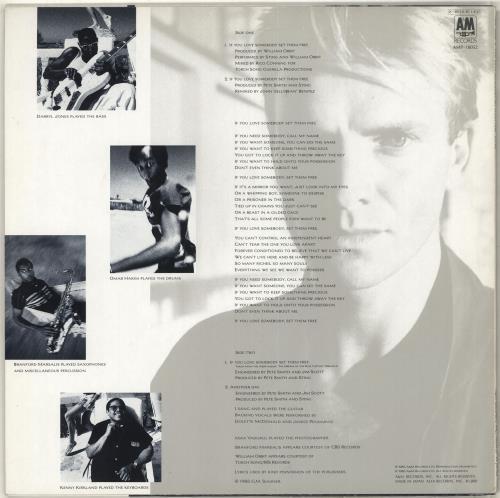 "Sting If You Love Somebody Set Them Free 12"" vinyl single (12 inch record / Maxi-single) Japanese STI12IF713421"