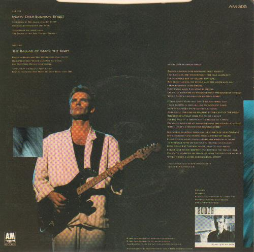 "Sting Moon Over Bourbon Street 7"" vinyl single (7 inch record) UK STI07MO19785"