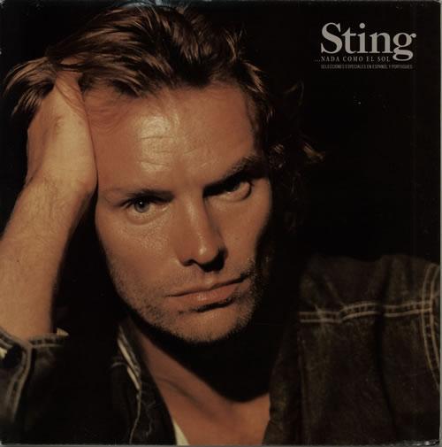 Sting Nada Como El Sol vinyl LP album (LP record) Spanish STILPNA637884