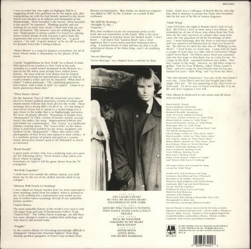 Sting Nothing Like The Sun + Inserts 2-LP vinyl record set (Double Album) UK STI2LNO772331