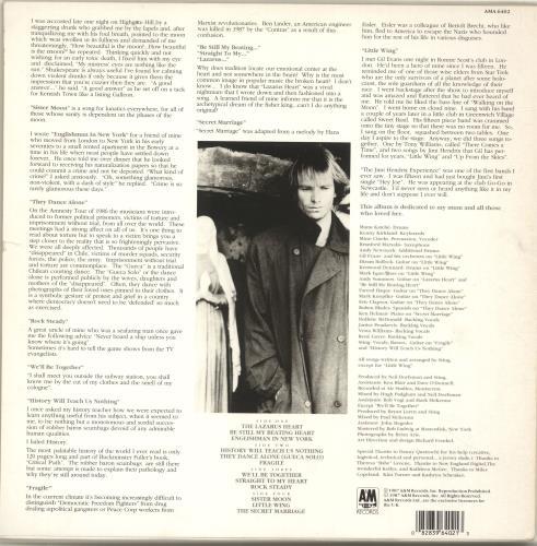 Sting Nothing Like The Sun - Complete - EX 2-LP vinyl record set (Double Album) UK STI2LNO695349