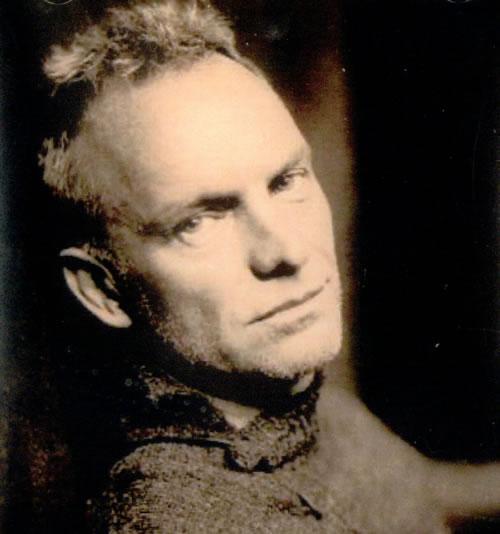 Sting Sacred Love - Album Sampler CD-R acetate US STICRSA270868