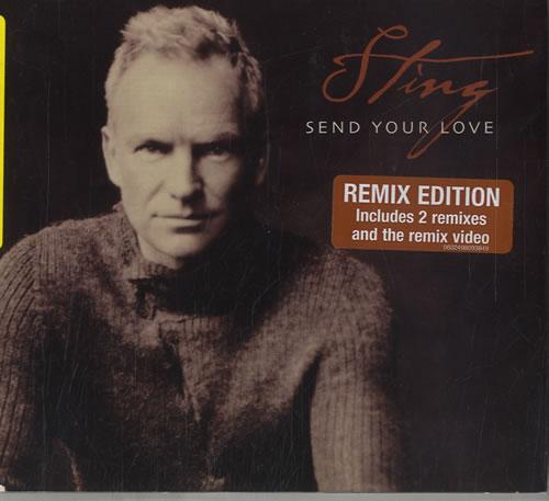 "Sting Send Your Love CD single (CD5 / 5"") German STIC5SE584636"