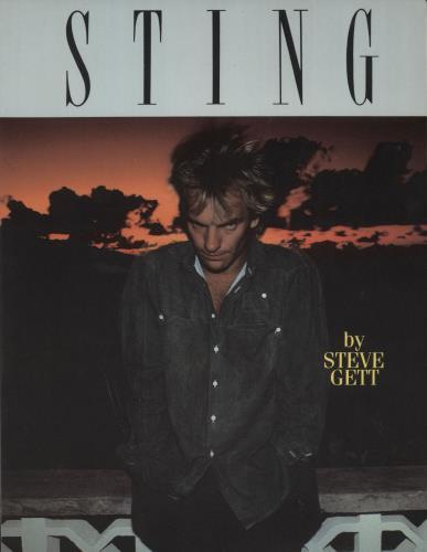 Sting Sting book US STIBKST717847