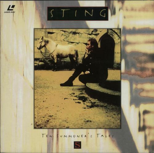 Sting Ten Summoner's Tales laserdisc / lazerdisc UK STILZTE622037