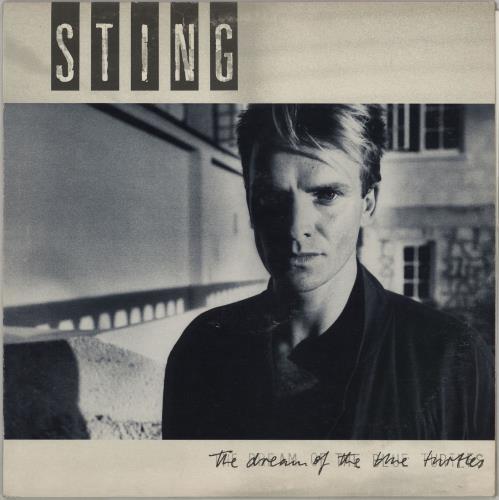 Sting The Dream Of The Blue Turtles - Inner + Insert vinyl LP album (LP record) UK STILPTH757780
