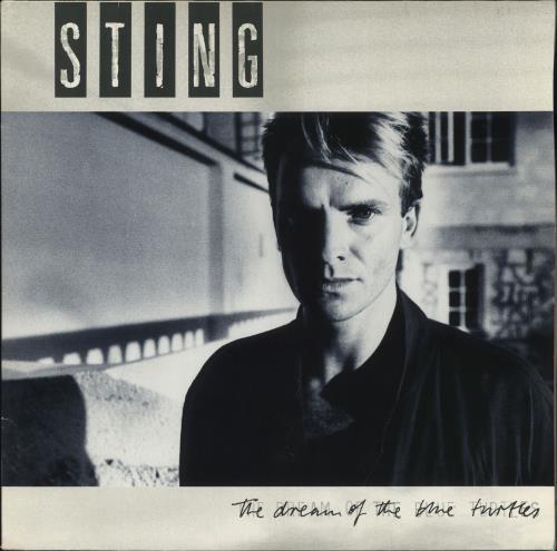 Sting The Dream Of The Blue Turtles vinyl LP album (LP record) German STILPTH707703