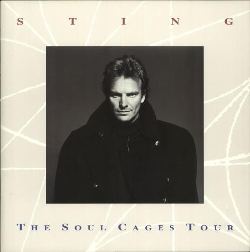 Sting The Soul Cages Tour tour programme UK STITRTH257956