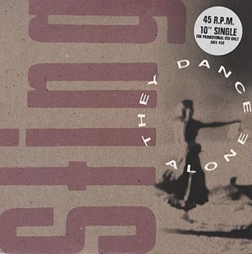 "Sting They Dance Alone 10"" vinyl single (10"" record) UK STI10TH21676"