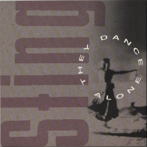 "Sting They Dance Alone 12"" vinyl single (12 inch record / Maxi-single) UK STI12TH83342"