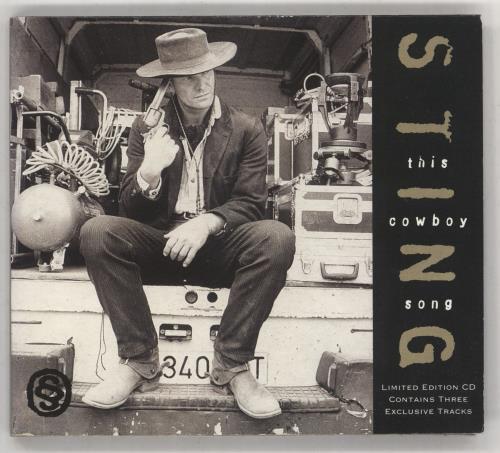 "Sting This Cowboy Song CD single (CD5 / 5"") UK STIC5TH88357"