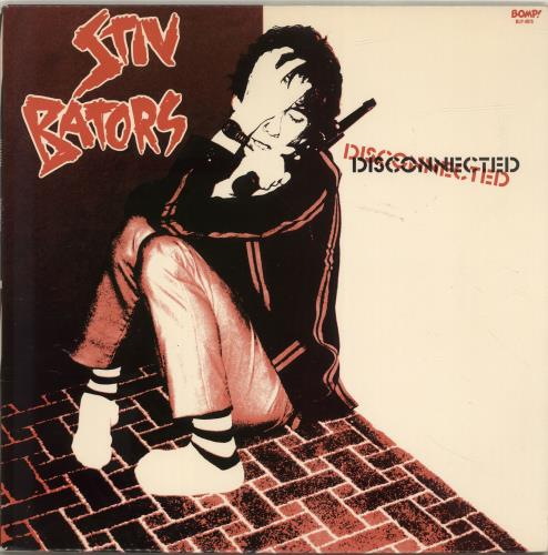 Stiv Bators Disconnected vinyl LP album (LP record) US BATLPDI517409