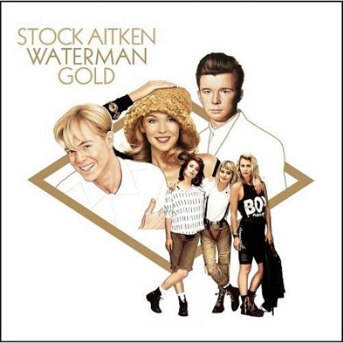 Stock Aitken Waterman Gold Uk 3 Cd Album Set Triple Cd