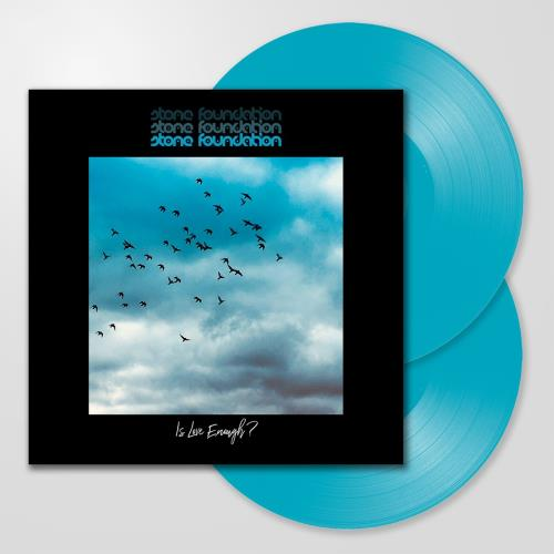 Stone Foundation Is Love Enough? - Turquoise Vinyl - Sealed 2-LP vinyl record set (Double Album) UK 0TO2LIS753493