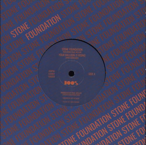 """Stone Foundation Your Balloon Is Rising 7"""" vinyl single (7 inch record) UK 0TO07YO734594"""