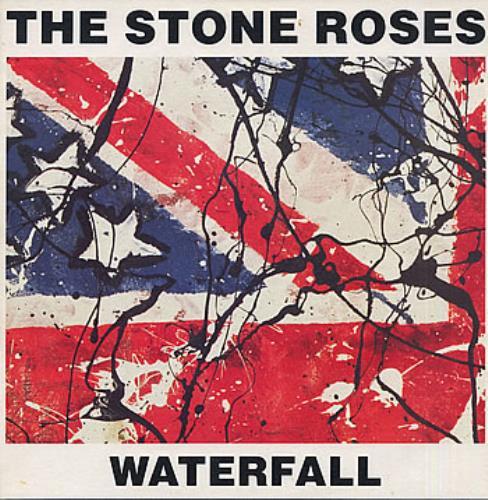 "Stone Roses Waterfall + Print 12"" vinyl single (12 inch record / Maxi-single) UK STO12WA82537"