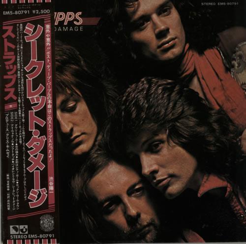 Strapps Secret Damage Promo vinyl LP album (LP record) Japanese SG9LPSE381333