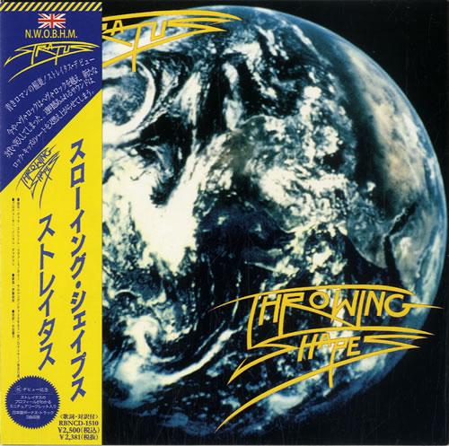 Stratus Throwing Shapes CD album (CDLP) Japanese S58CDTH599876