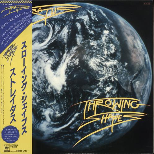 Stratus Throwing Shapes vinyl LP album (LP record) Japanese S58LPTH711013