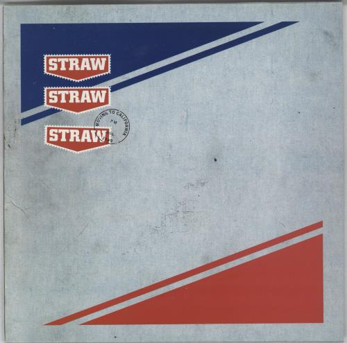 "Straw Moving To California - White Vinyl 7"" vinyl single (7 inch record) UK WSA07MO281325"