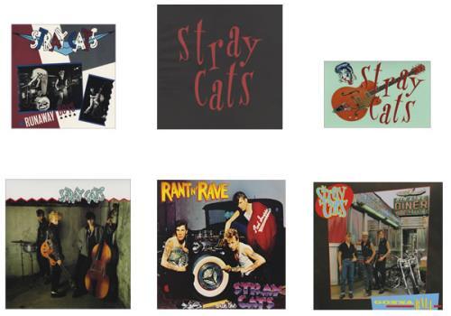 """Stray Cats LP Box + Bonus 7"""" Vinyl Box Set Japanese SRYVXLP427067"""