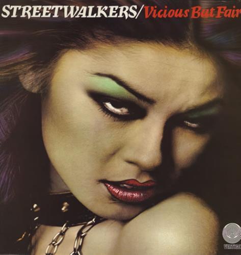 Streetwalkers Vicious But Fair German Vinyl Lp Album Lp