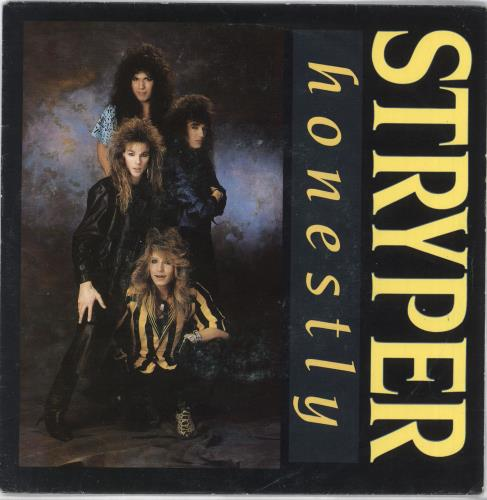 "Stryper Honestly 7"" vinyl single (7 inch record) Dutch STP07HO718434"