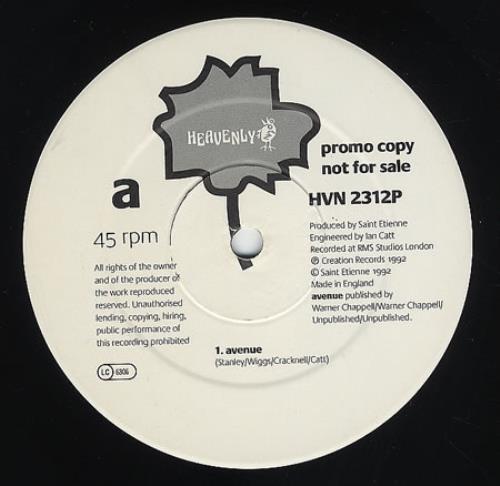 "St Etienne Avenue 12"" vinyl single (12 inch record / Maxi-single) UK ETI12AV19210"