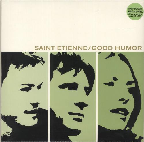 St Etienne Good Humor + Bonus 10'' - Sealed vinyl LP album (LP record) UK ETILPGO616072