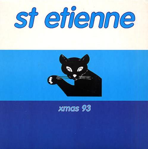 "St Etienne Xmas 93 7"" vinyl single (7 inch record) UK ETI07XM77040"