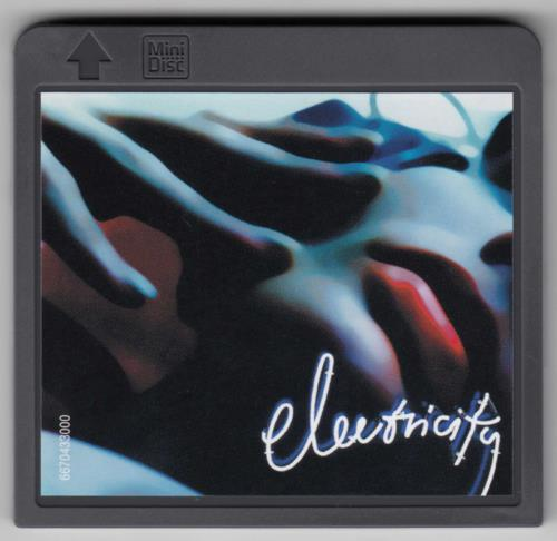 Suede Electricity mini disc (MD) UK SUEMDEL176249