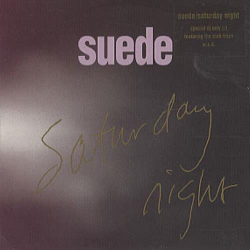 "Suede Saturday Night CD single (CD5 / 5"") UK SUEC5SA323449"