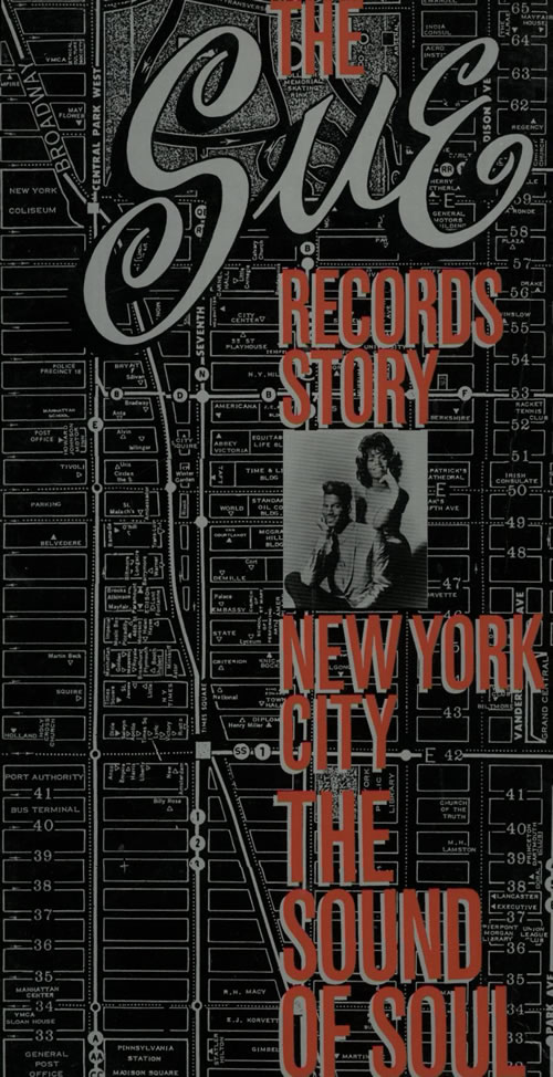 Sue Records The Sue Records Story: New York City: The Sound of Soul 4-CD album set UK W8-4CTH625857