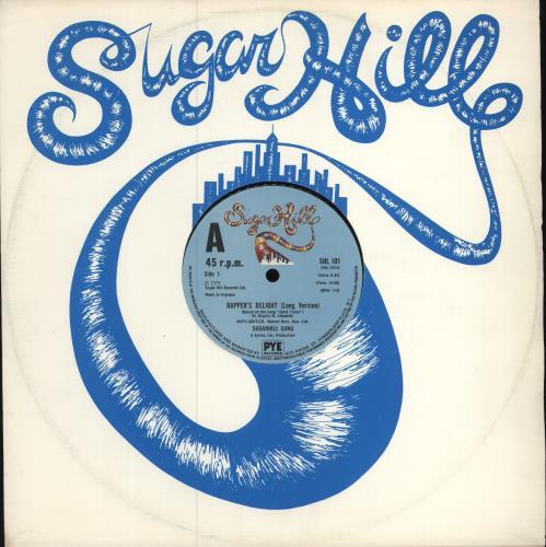 """Sugarhill Gang Rapper's Delight 12"""" vinyl single (12 inch record / Maxi-single) UK SUH12RA184052"""