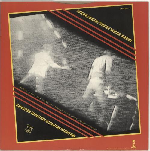 """Suicide Dream Baby Dream 12"""" vinyl single (12 inch record / Maxi-single) UK SUD12DR712941"""