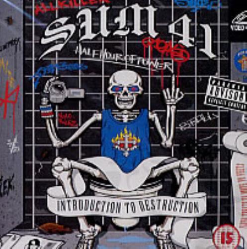 Sum 41 Introuduction To Destruction Video CD Thailand S41VDIN239986