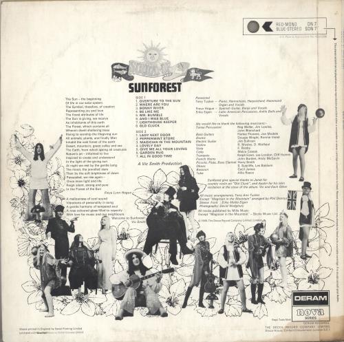 Sunforest Sound Of vinyl LP album (LP record) UK SUKLPSO590347