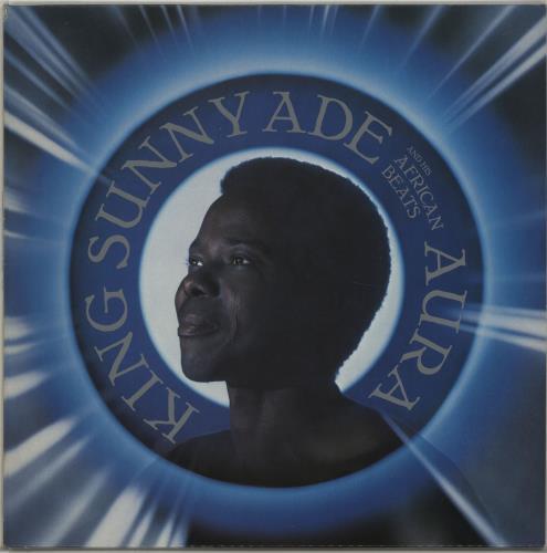 Sunny Adé Aura vinyl LP album (LP record) UK KFVLPAU674519