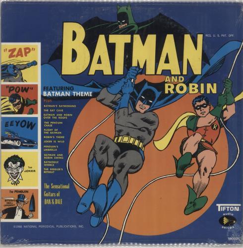 Sun Ra Batman And Robin - Sealed vinyl LP album (LP record) US SR4LPBA733922
