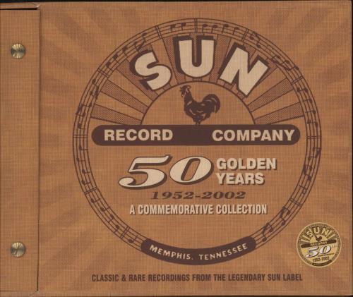 Sun Records 50 Golden Years CD Album Box Set UK SJJDXGO744461