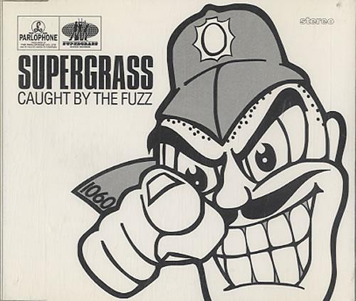 "Supergrass Caught By The Fuzz CD single (CD5 / 5"") Dutch SGSC5CA626538"