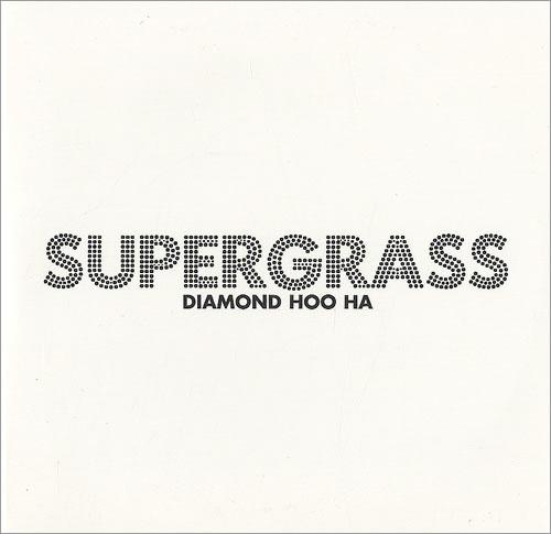 Supergrass Diamond Hoo Ha CD album (CDLP) UK SGSCDDI435475