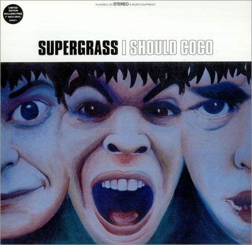 "Supergrass I Should Coco + 7"" - EX vinyl LP album (LP record) UK SGSLPIS446503"