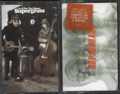 Supergrass In It For The Money / Supergrass cassette album UK SGSCLIN714055
