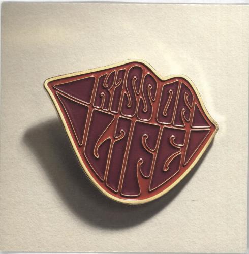 "Supergrass Kiss Of Life - Clear Vinyl 7"" vinyl single (7 inch record) UK SGS07KI286310"
