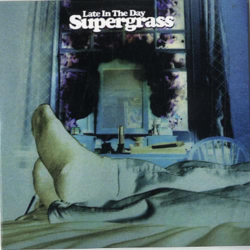"Supergrass Late In The Day CD single (CD5 / 5"") Dutch SGSC5LA626018"