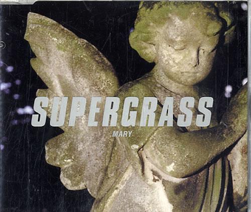 "Supergrass Mary CD single (CD5 / 5"") Dutch SGSC5MA626539"