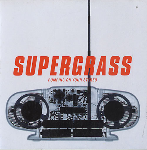 "Supergrass Pumping On Your Stereo CD single (CD5 / 5"") Dutch SGSC5PU626019"
